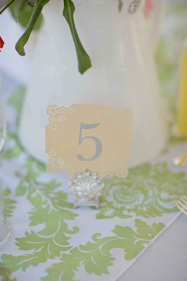 Sweet and easy table numbers! http://www.stylemepretty.com/2011/06/08/tequesta-wedding-by-vitalic-photo/