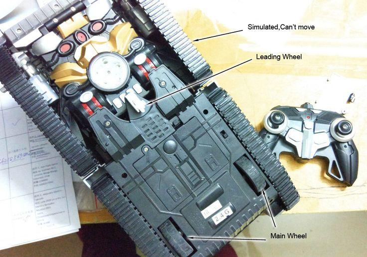 One Key Transform RC Robot Tank Classic R C Radio Remote Control Tiger RC Tank Model. Click visit to buy #RemoteControl #Tank