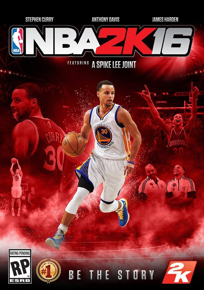 Don't Like Steph Curry? NBA 2K16 Comes With Swappable Covers Steph Curry  #StephCurry