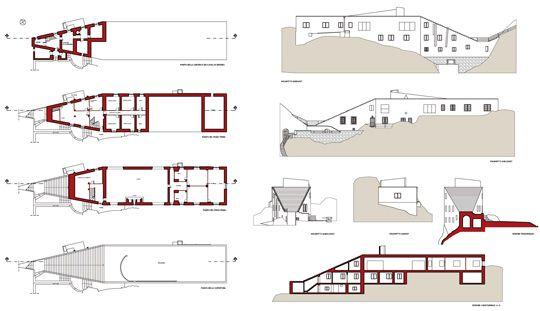 Casa Malaparte Floor Plans.