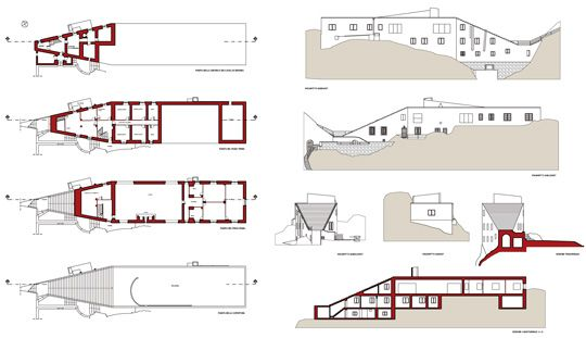 Casa Malaparte Floor Plans Love For Architecture