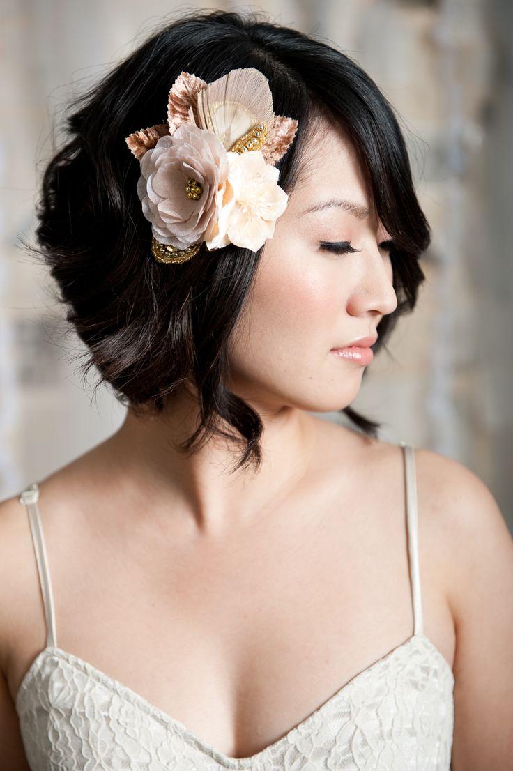 Junior bridesmaid hair accessories - Photo Via