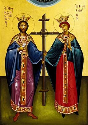 Feast of the Holy Great Sovereigns Constantine and Helen, Equal to the Apostles