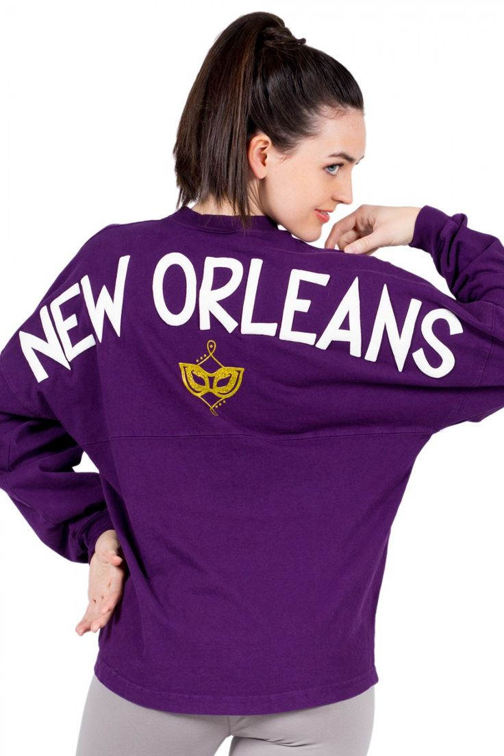 New Orleans (Mardi Gras Mask) Classic Spirit Jersey®