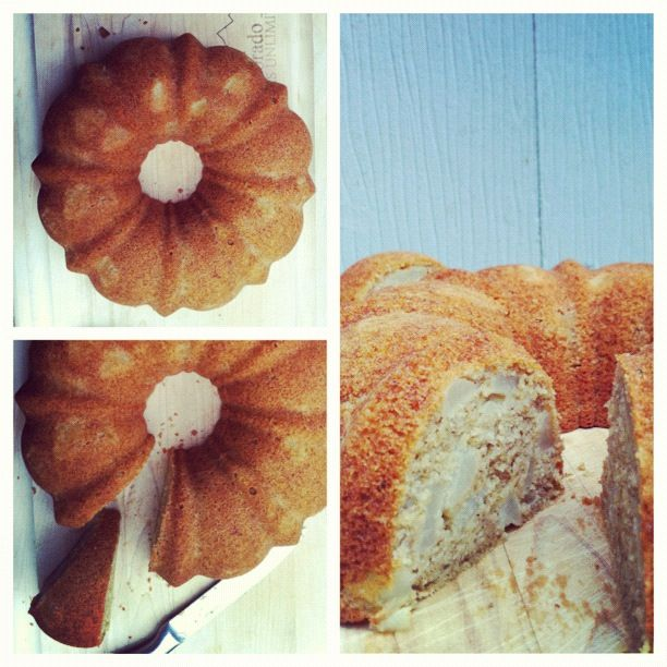 Pear and cardamom spiced bundt cake | Edible Delights | Pinterest
