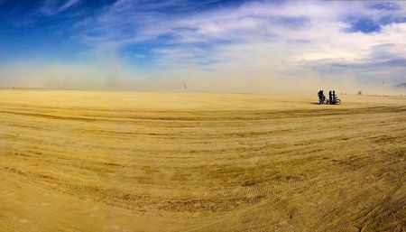 The Sandstorm Approaches Photo by CARL KRUSE — National Geographic Your Shot