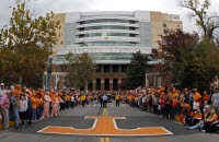 Prior to the Alabama vs. Tennessee Football game