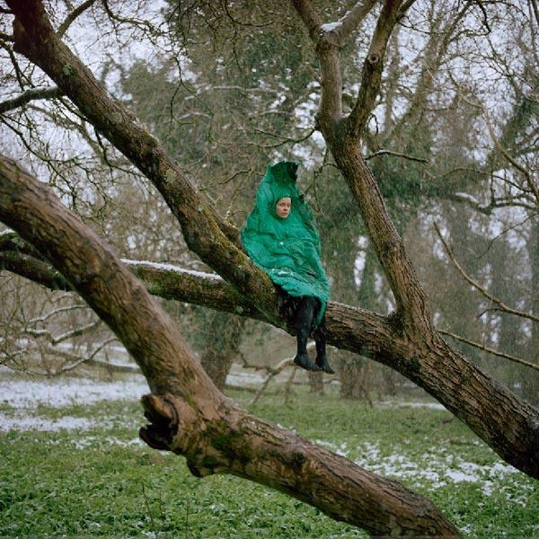 Riita Ikonen, Isabella's friend, makes whimsical costumes / art