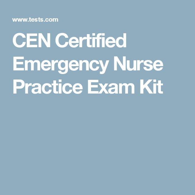 how to become a certified emergency nurse