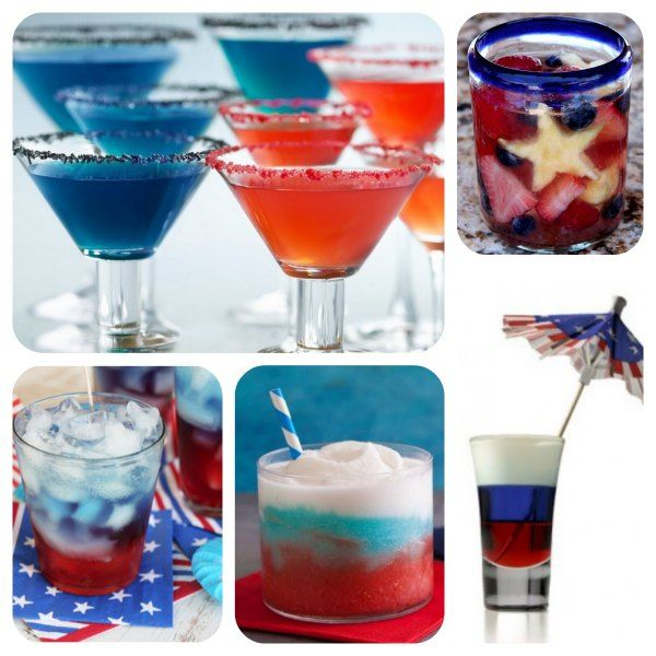 4th of july wine drinks