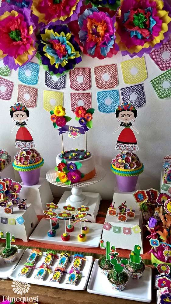 Fiesta / Mexican Birthday Party Ideas   Photo 7 of 27   Catch My Party
