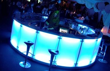 glowing round bar
