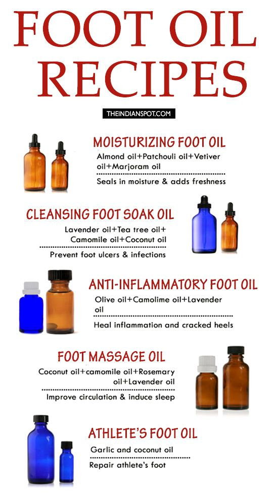 PAMPER YOUR FEET WITH HOMEMADE FOOT OIL RECIPES