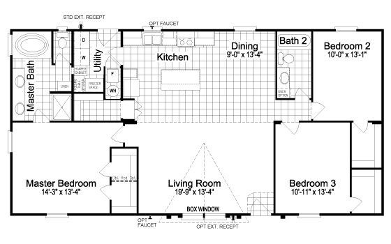 Floor Plan:The Fantasy Island TLT355A9 | Manufactured