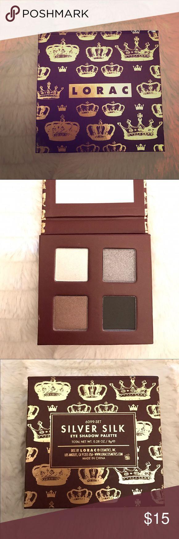 Lorac eyeshadow quad Brand new, never used eyeshadow palette.   Great for a smoky eye! LORAC Makeup Eyeshadow