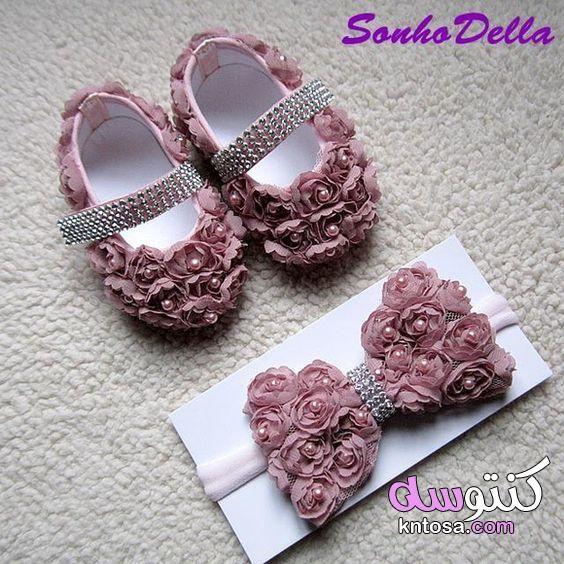 جزم اطفال بناتي احذية ع الموضة شوزات روعة للاطفال 2020 احذية افراح للبنات الصغار Baby Doll Shoes Baby Shoes Diy Crochet Baby Shoes
