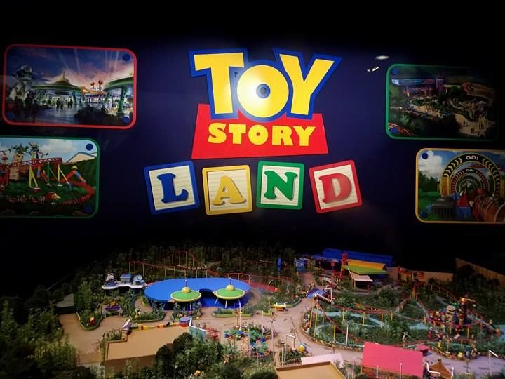 A First Look at the Detailed Model Plans for Toy Story Land at Disney's Hollywood Studios