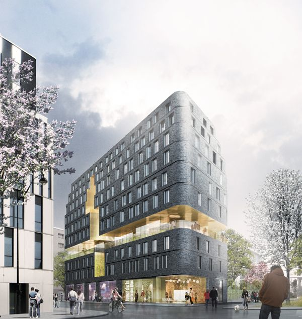 Avenier Cornejo Architectes - Un foyer de 240 chambres et une crèche - Paris 20