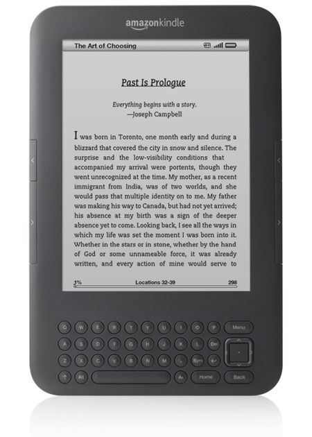 Kindle - I LOVE mine :)