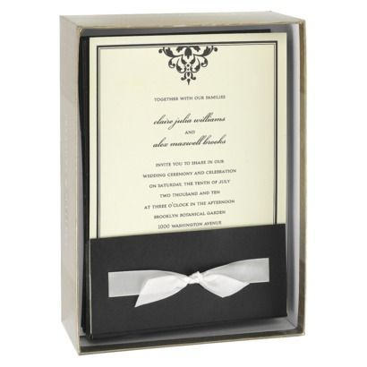 64 best 50th wedding anniversary images on pinterest 50th ribbon tied wrap invitation kit 25ct stopboris Choice Image