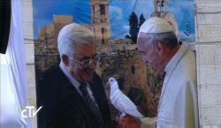 F.G. Saraiva: Papa com autoridades palestinas: premente encoraja...