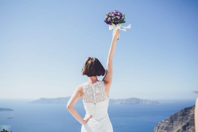 Santorini Destination Wedding. Obe & Benson. » Destination Wedding Photographer Chris Spira | Destination Wedding, Wedding, Elopement and Portrait Photography