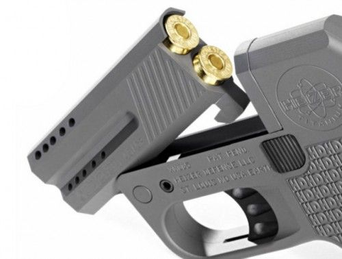 DoubleTap .45 Caliber Pistol Is World's Smallest   OhGizmo!