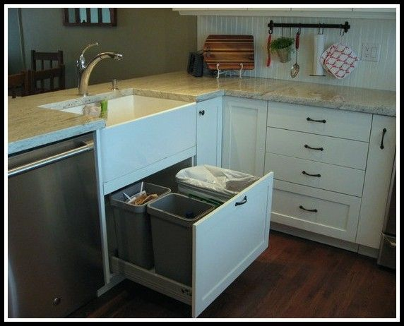 17 best ideas about traditional kitchen trash cans on pinterest kitchen ideas kitchens and - Kitchen trash can ideas ...
