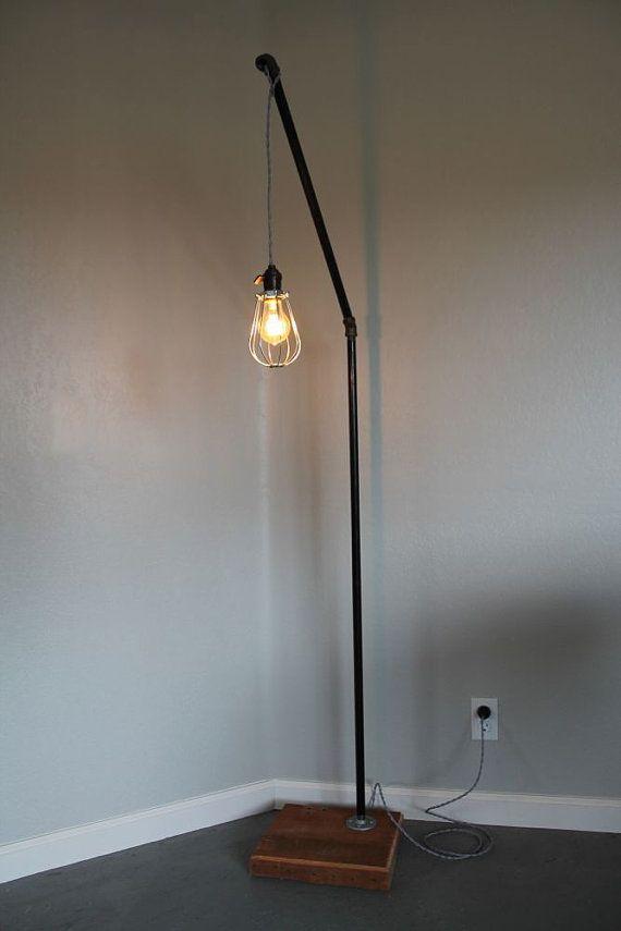 Minimalist Pipe Floor Lamp by TRRTRY on Etsy, $199.00