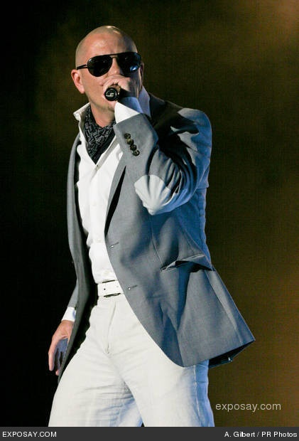 Mr. Pitbull - the best dresser in the music business and the only Latino I will ever fall in love with again. Lol
