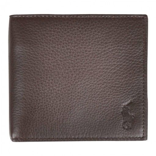 POLO RALPH LAUREN BILLFOLD W/COIN LEATHER BROWN  http://www.fernerjacobsen.no/sortiment/herre/assessoirer/polo-ralph-lauren-billfold-w-coin-426180-a79-aw-636-a2006