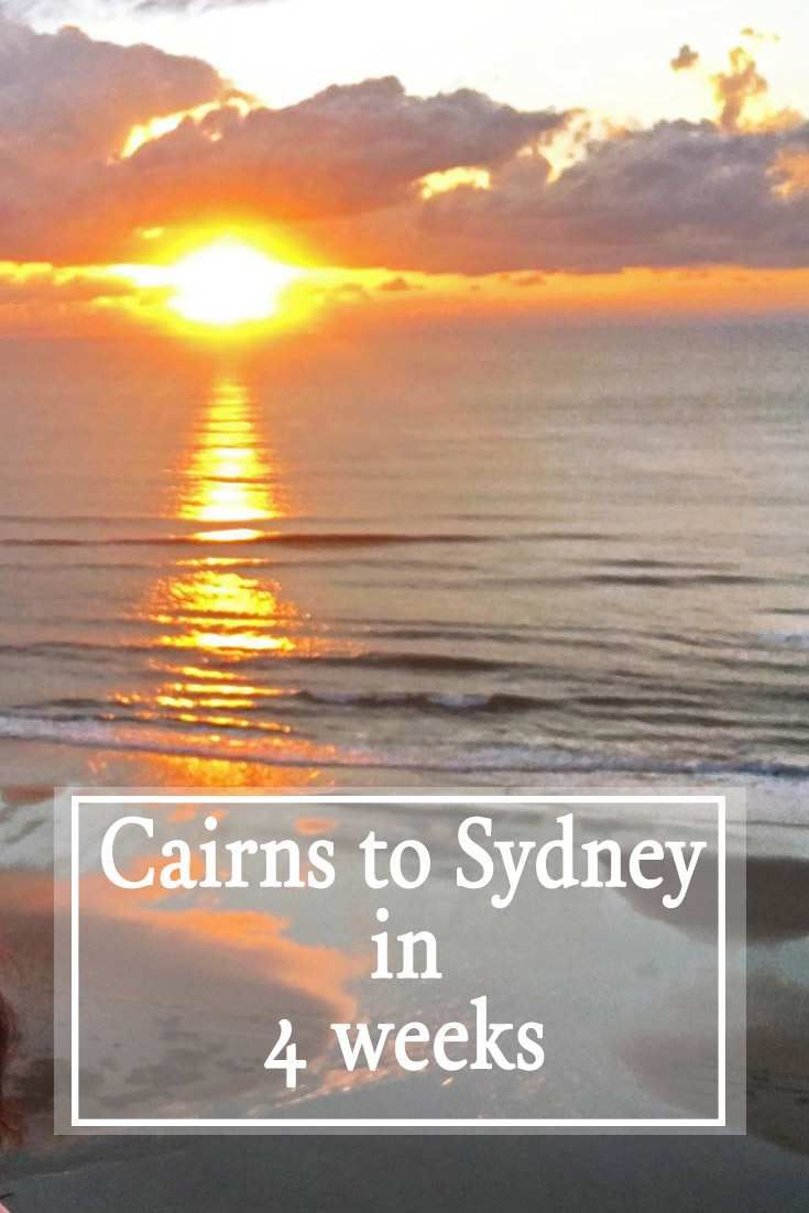 Cairns to Sydney in 4 Weeks. Road tripping in a motorhome is surely the best way to enjoy Australia! Freedom to go where you want and when you want is the essence of a great road trip.