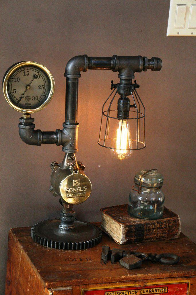 Ste&unk Brass Steam Gauge L& - SOLD & 19 best images about Industrial on Pinterest | Antiques Steampunk ... azcodes.com