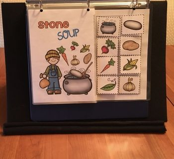 Stone Soup Adapted Book, Literacy and Math Activities