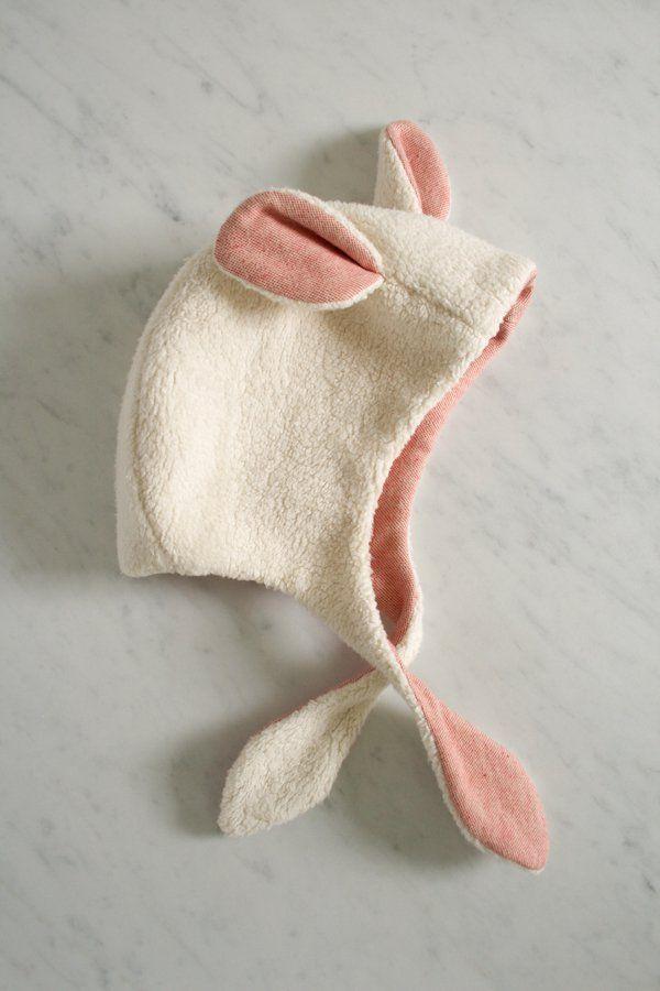 無料型紙 とってもかわいい羊の帽子の作り方 赤ちゃん用 | 無料ハンドメイド型紙まとめ