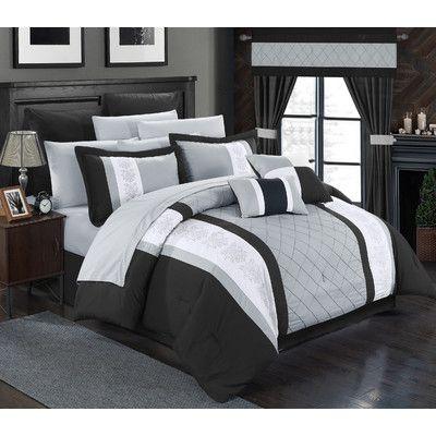 die besten 25+ modern comforter sets ideen auf pinterest | gelbe ... - Schlafzimmer Set Modern