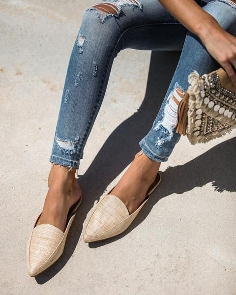 31f5df4d599 Like The locals Woven Pointed Mules in 2019 | Omg shoes! | Heeled ...