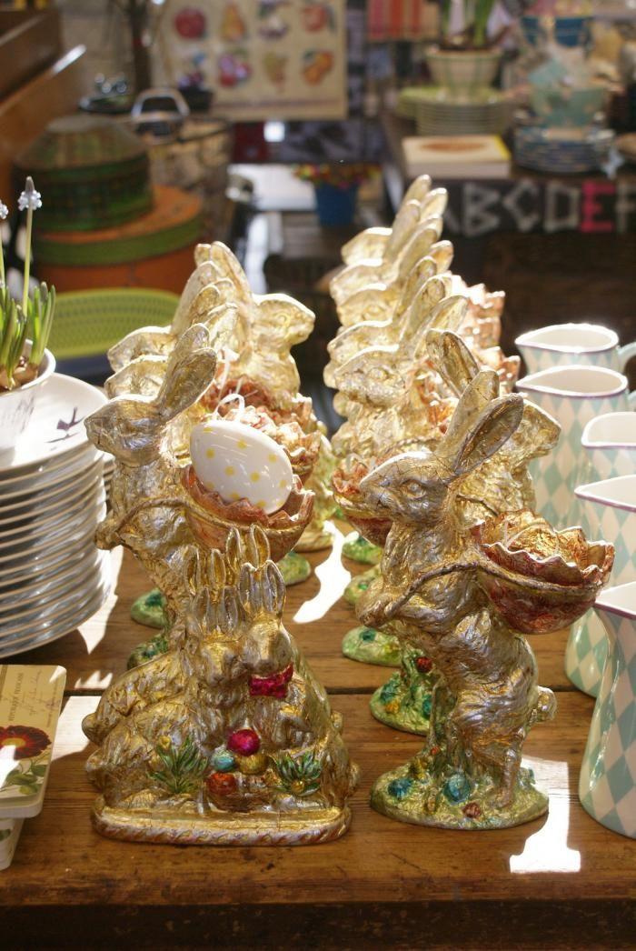 Villa Augustus Easter bunnies by Ingrid Jansen: Gardenista