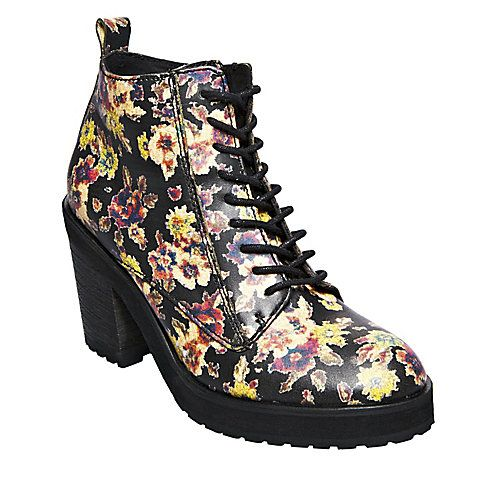Steve Madden Deesell Floral Ankle Boots