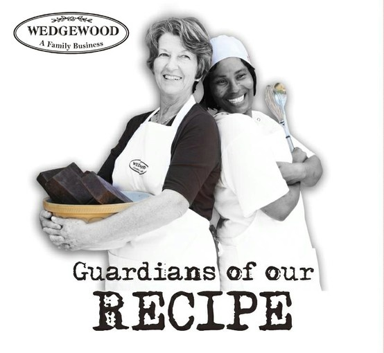 The Guardians of the Wedgewood Nougat recipe - Gilly Walters, the start of all things Wedgewood Nougat!