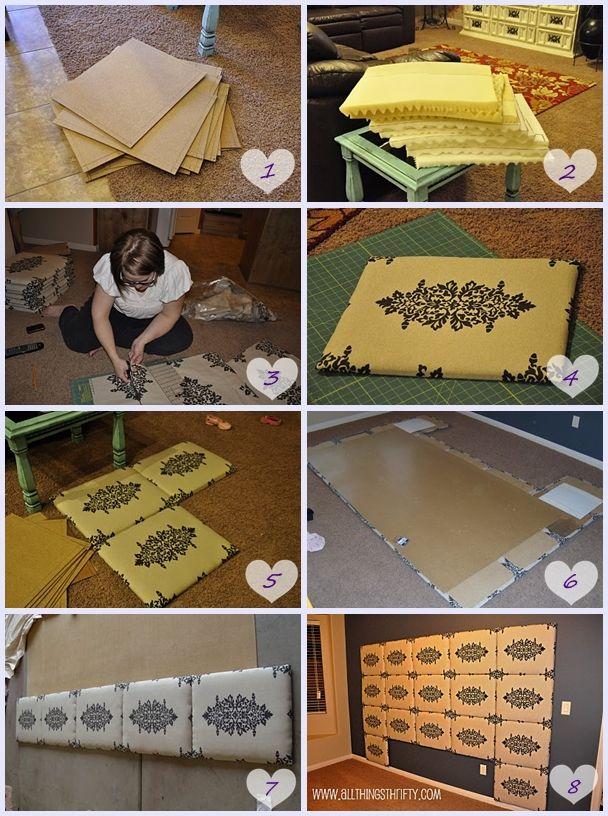 Aprenda a fazer sua cabeceira de cama - Minha casa do meu jeito