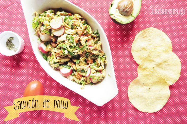 Salpicón de Pollo – Receta fácil on Cocina Sana