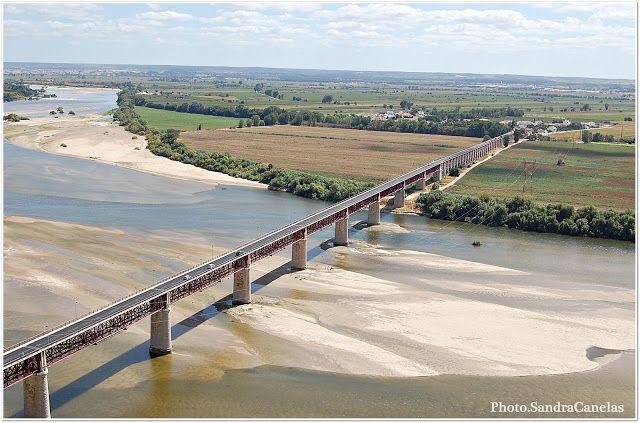 Um Olhar e Um Click: Ponte D. Luis - Almeirim