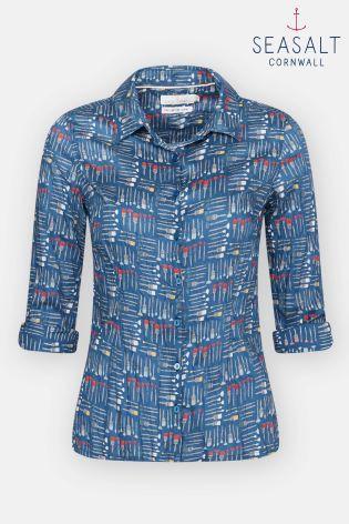 7e943ff8 Seasalt Blue Sophie Paint Brushes Sailor Larissa Shirt | Next ...