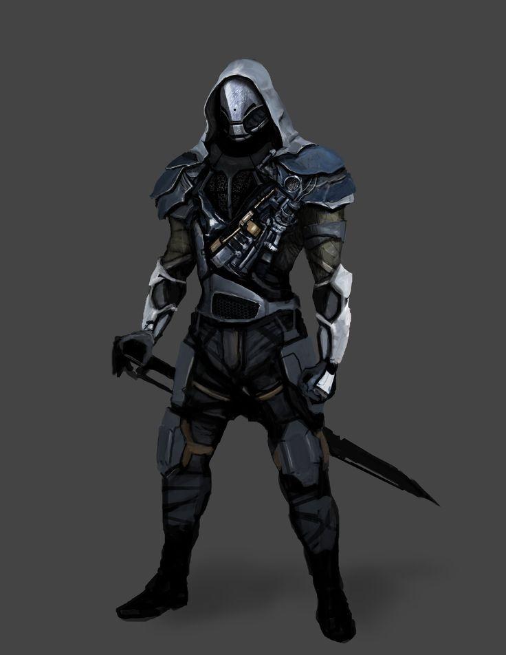 ArtStation - Sword guy.., John Ribera