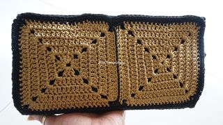 Sweet Nothings Crochet GRANNY SQUARE WALLET