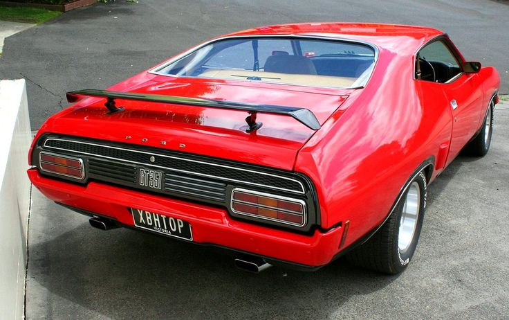 Ford XB Falcon with Custom plate XBHTOP