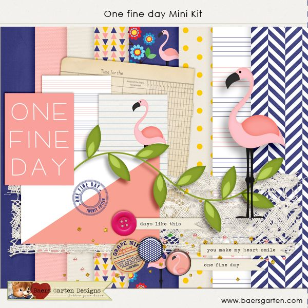 """One fine day Mini kit freebie Wednesday's Guest Freebies ~ Various ✿ Join 8,000 others. Follow the Free Digital Scrapbook board for daily freebies. Visit GrannyEnchanted.Com for thousands of digital scrapbook freebies. ✿ """"Free Digital Scrapbook Board"""" URL: https://www.pinterest.com/sherylcsjohnson/free-digital-scrapbook/"""