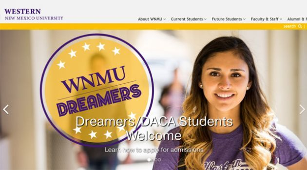 Western New Mexico University recently launched a campaign consisting of social media and face-to-face efforts geared towards recruiting undocumented immigrant students living in the United States.  via @latinamag
