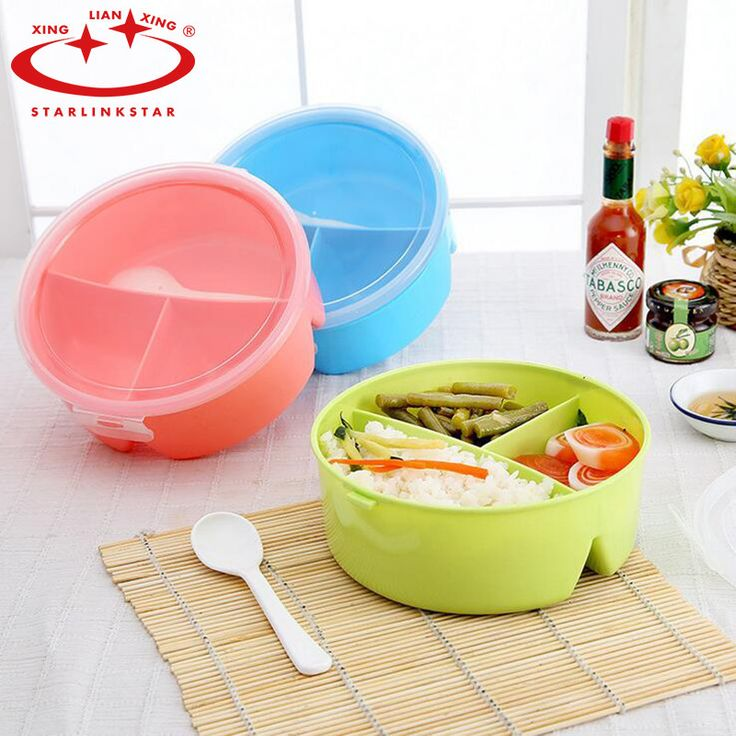 StarLinkStar.Cutlery Plastic Food Container Plate Dinner Set